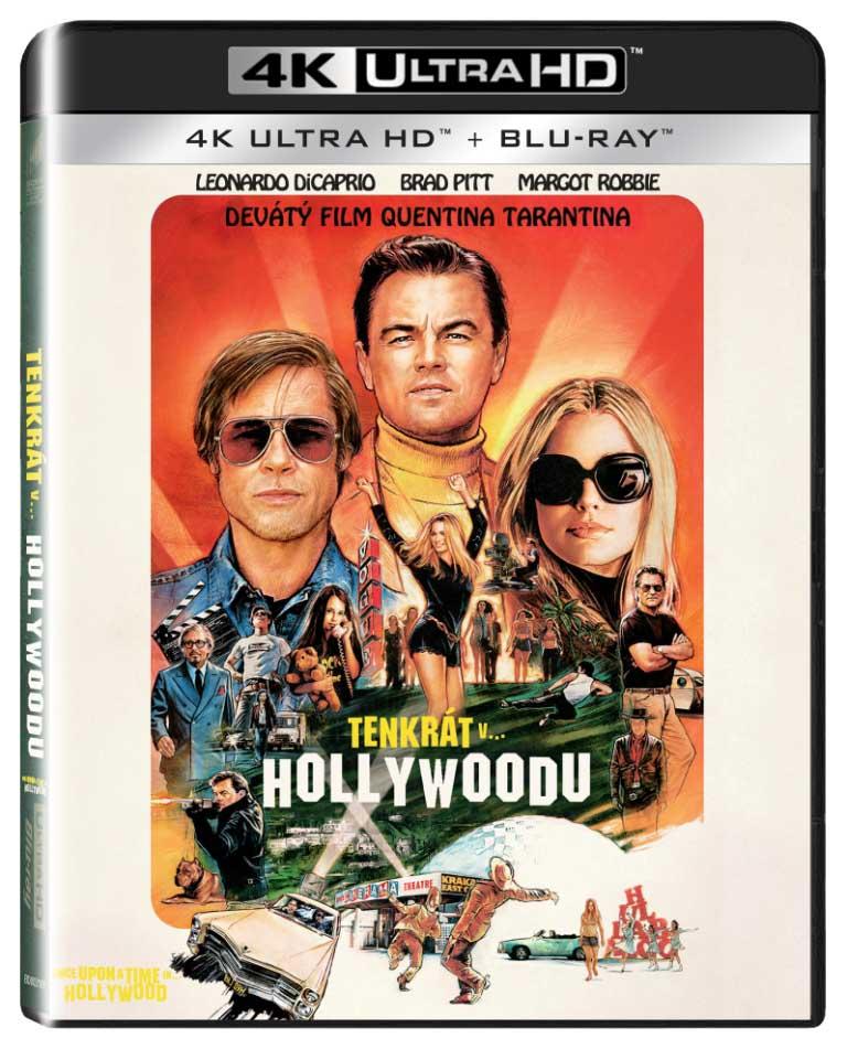 Tenkrát v Hollywoodu (4K Ultra HD) - UHD Blu-ray + Blu-ray (2 BD)