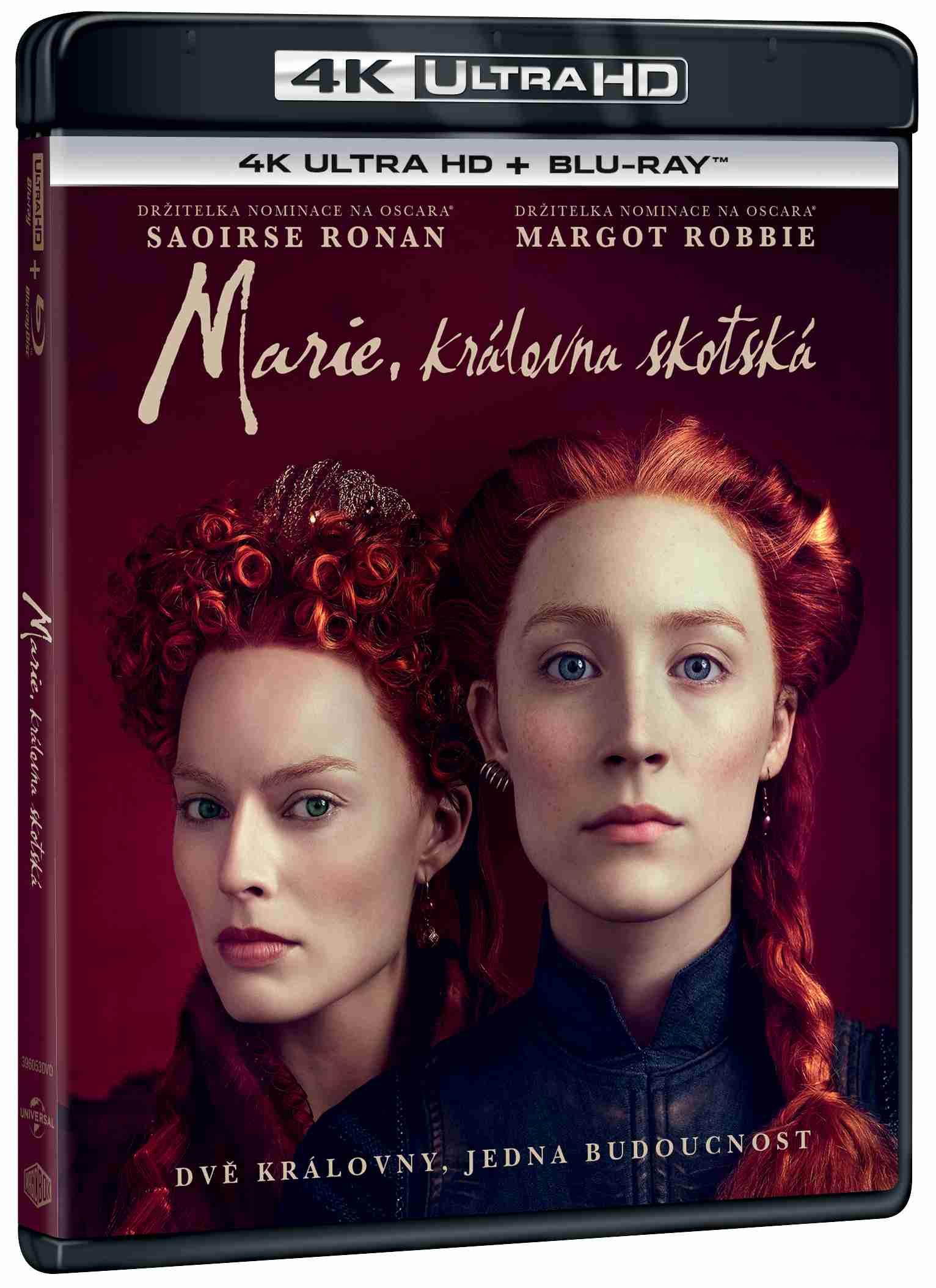Marie, královna skotská (4K ULTRA HD) - UHD Blu-ray + Blu-ray (2 BD)