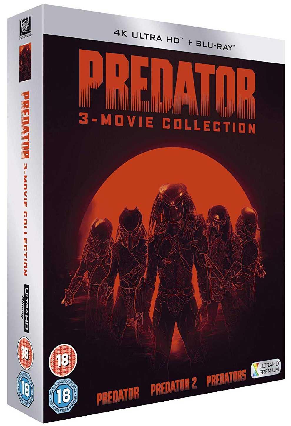 Predátor 1-3 kolekce 4K Ultra HD