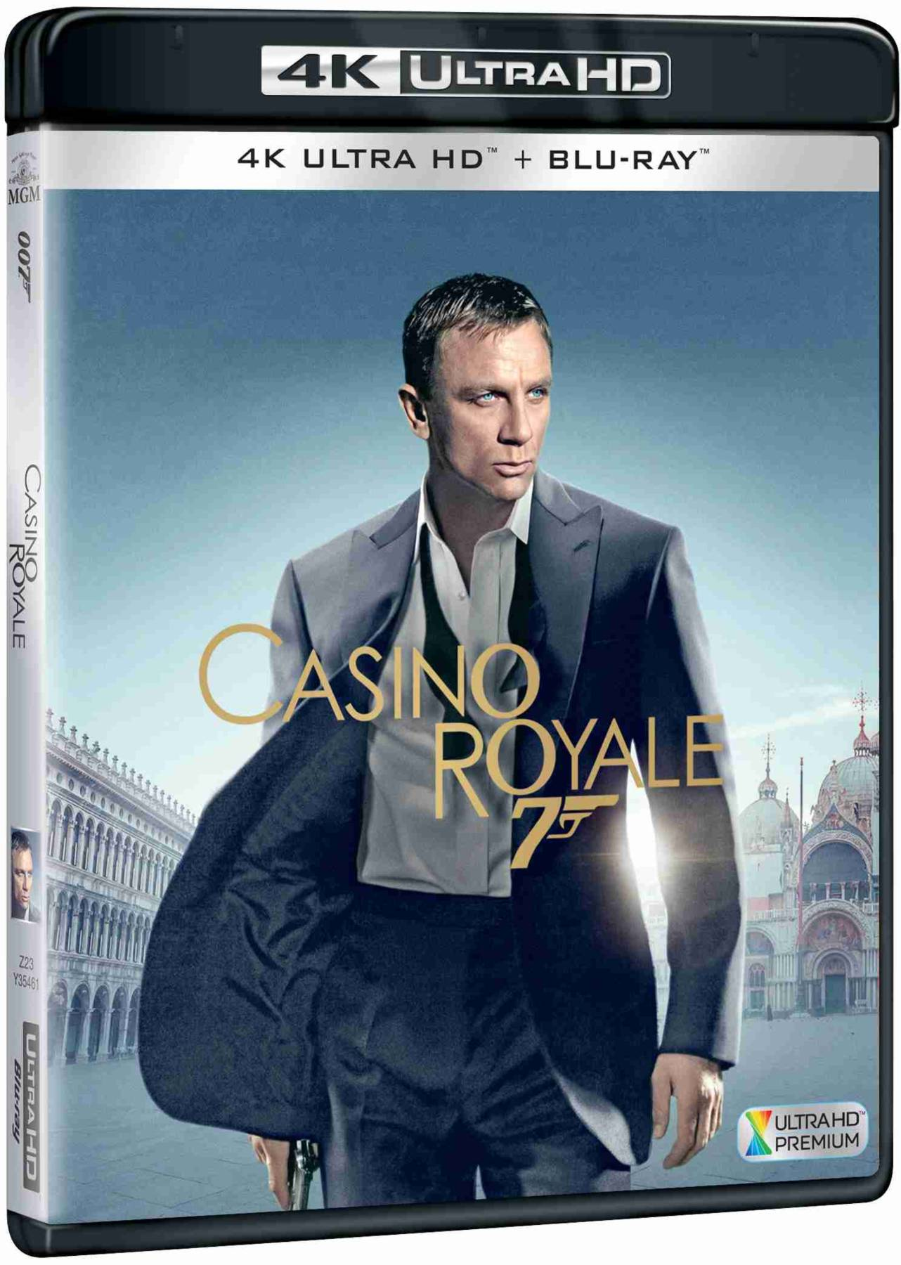 Casino Royale (4K Ultra HD) - UHD Blu-ray + Blu-ray (2 BD)