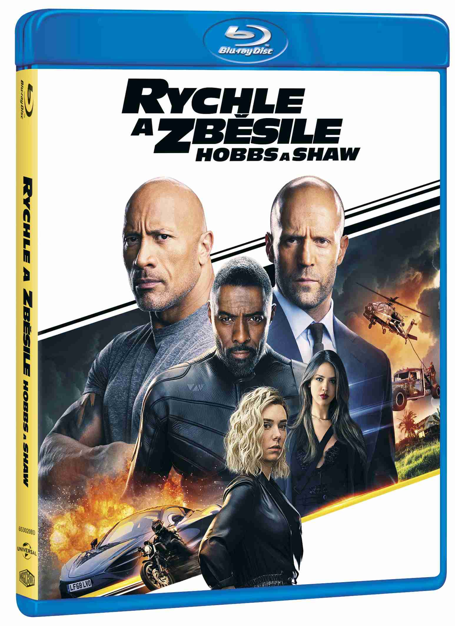 Rychle a zběsile: Hobbs a Shaw - Blu-ray