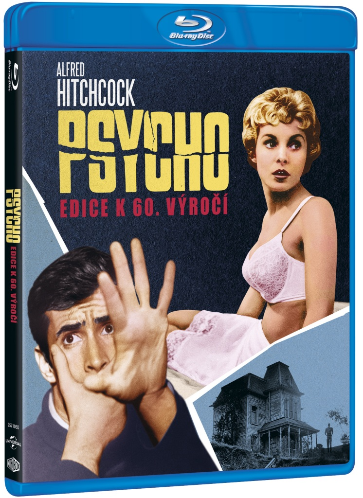 Psycho: Edice k 60. výročí - Blu-ray