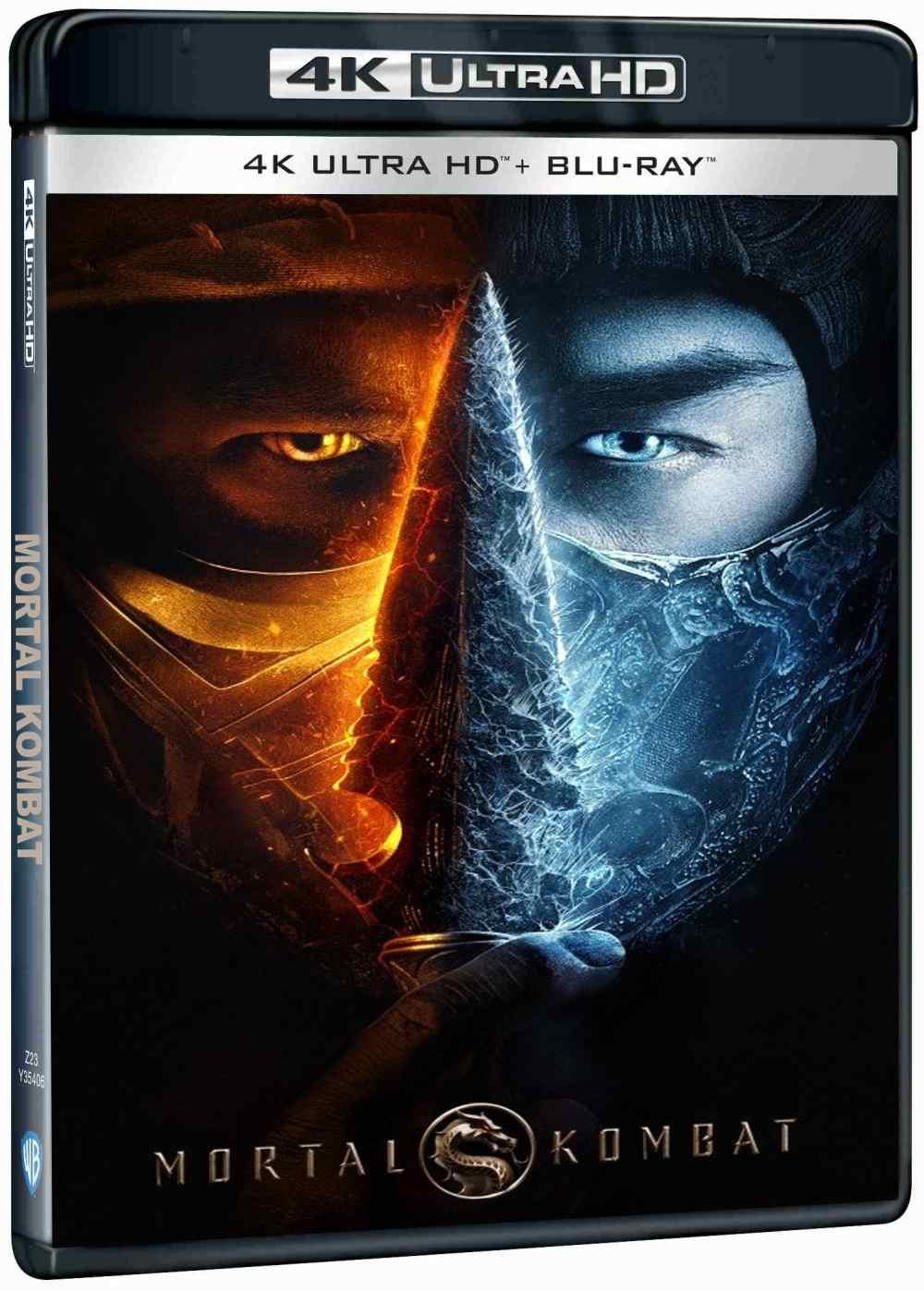 Mortal Kombat - 4K UHD Blu-ray + Blu-ray (2 BD)