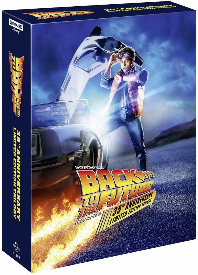 Návrat do budoucnosti 1-3 (Remasterovaná verze) 4K UHD + BD (Steelbook)