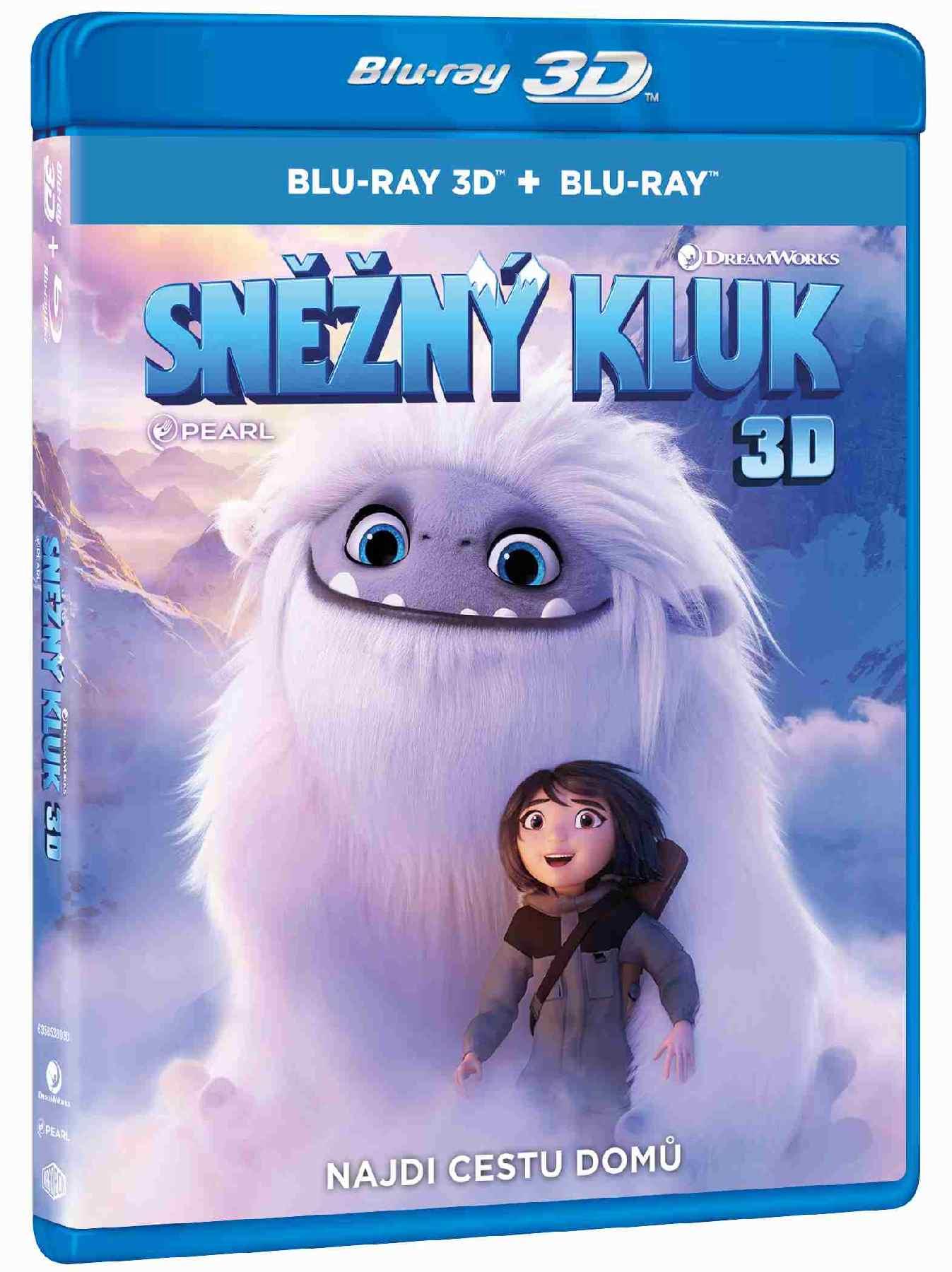 Sněžný kluk - Blu-ray 3D + 2D (2BD)