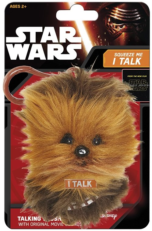 Klíčenka Star Wars - mluvící Chewbacca 2