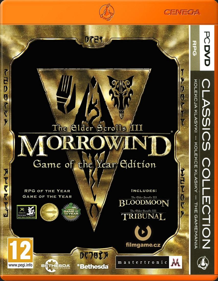 ELDER SCROLLS III: MORROWIND Game of the Year - PC