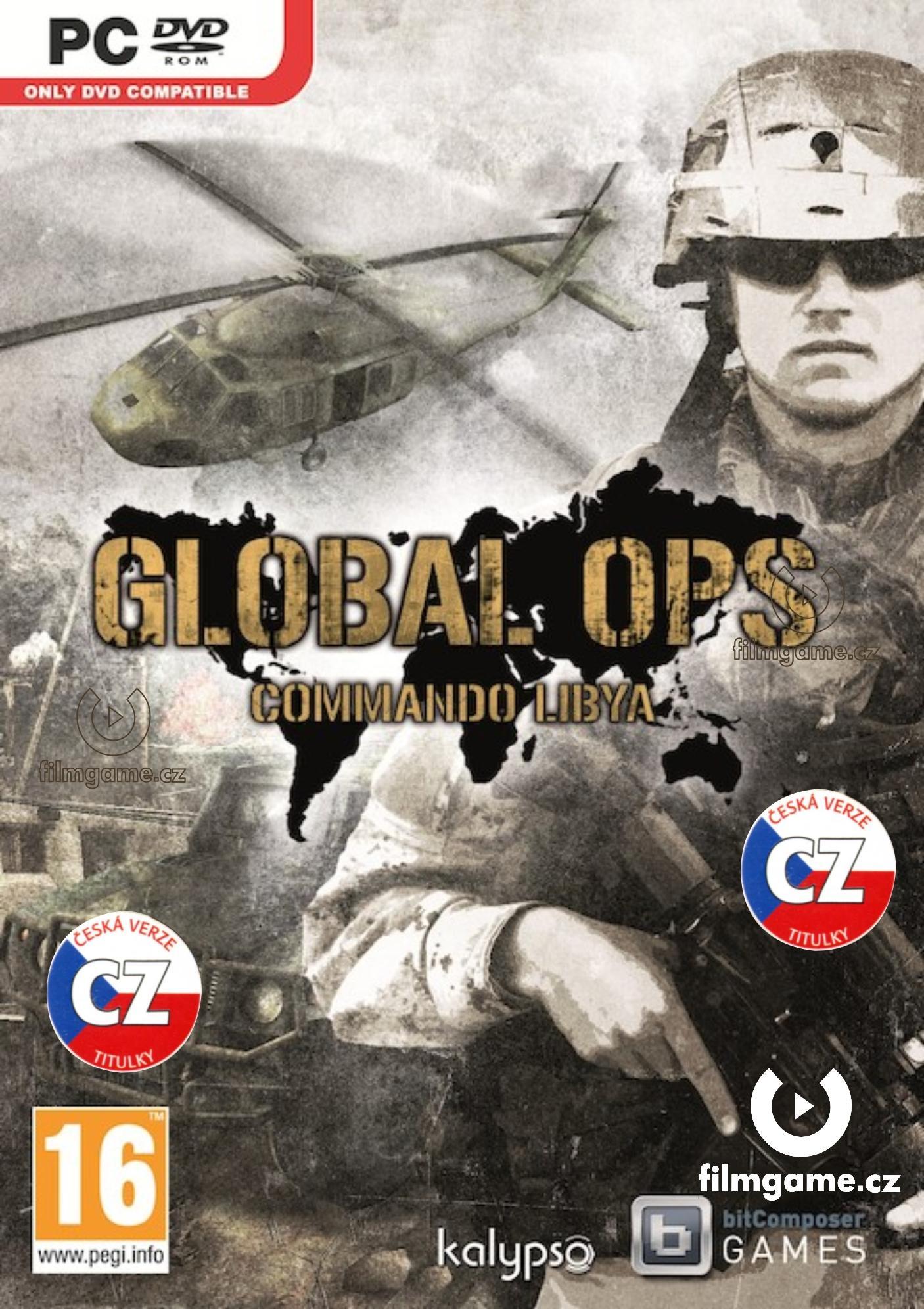 GLOBAL OPS: COMMANDO LIBYA - PC