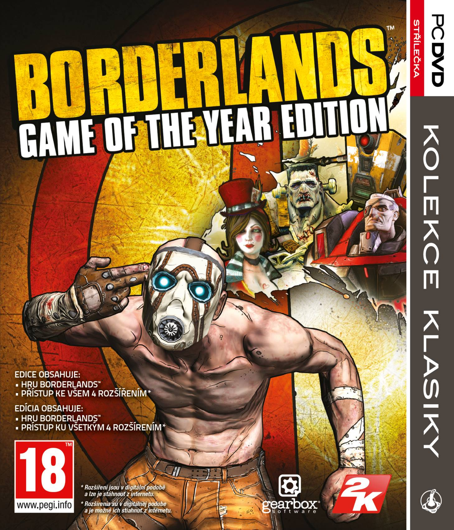 BORDERLANDS: GAME OF THE YEAR EDITION - PC