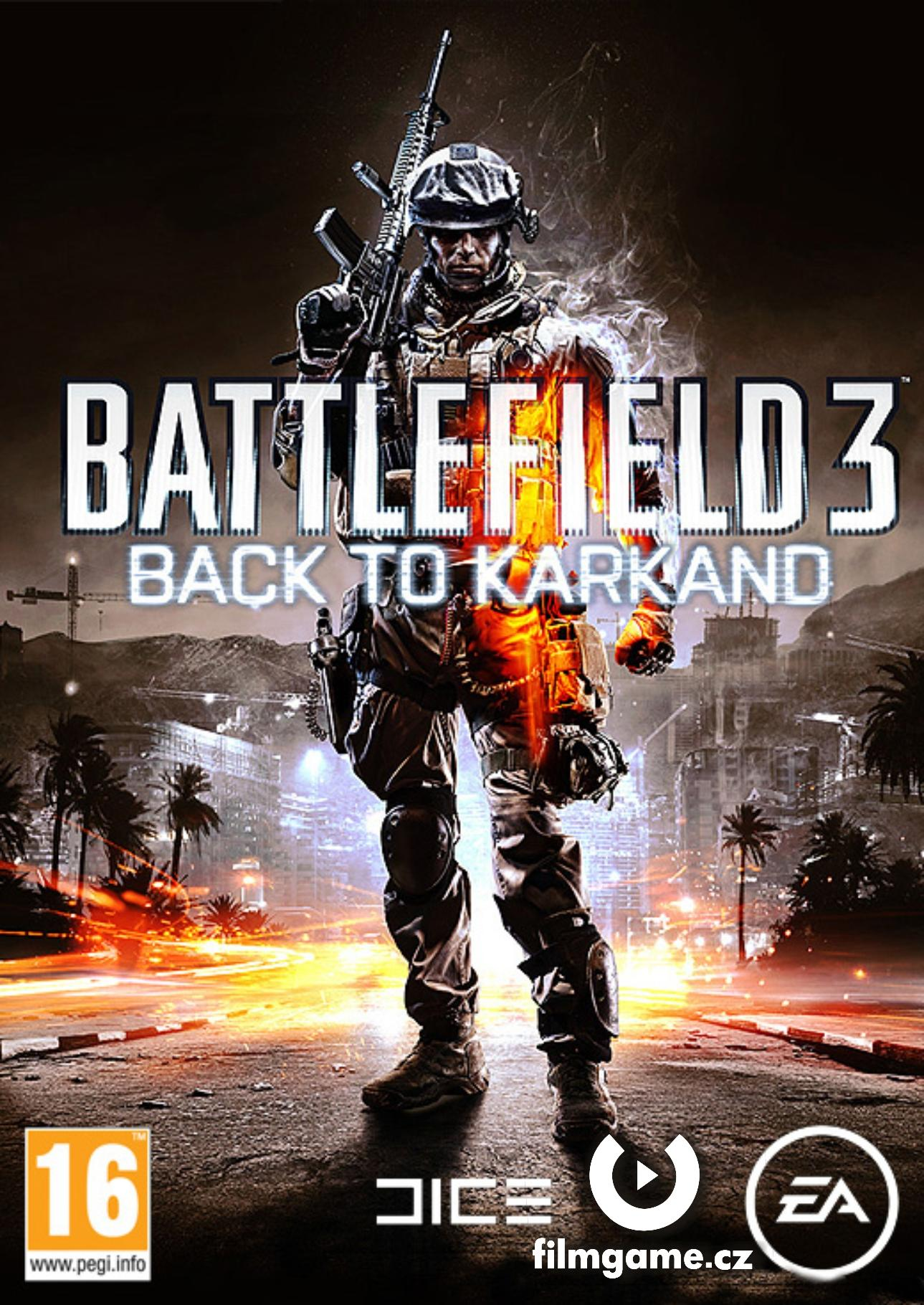 BATTLEFIELD 3: BACK TO KARKAND (PC online) - DATADISK - PC