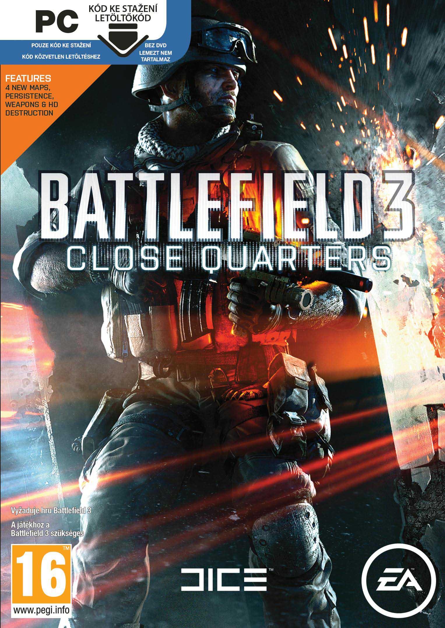 BATTLEFIELD 3: CLOSE QUARTERS - PC