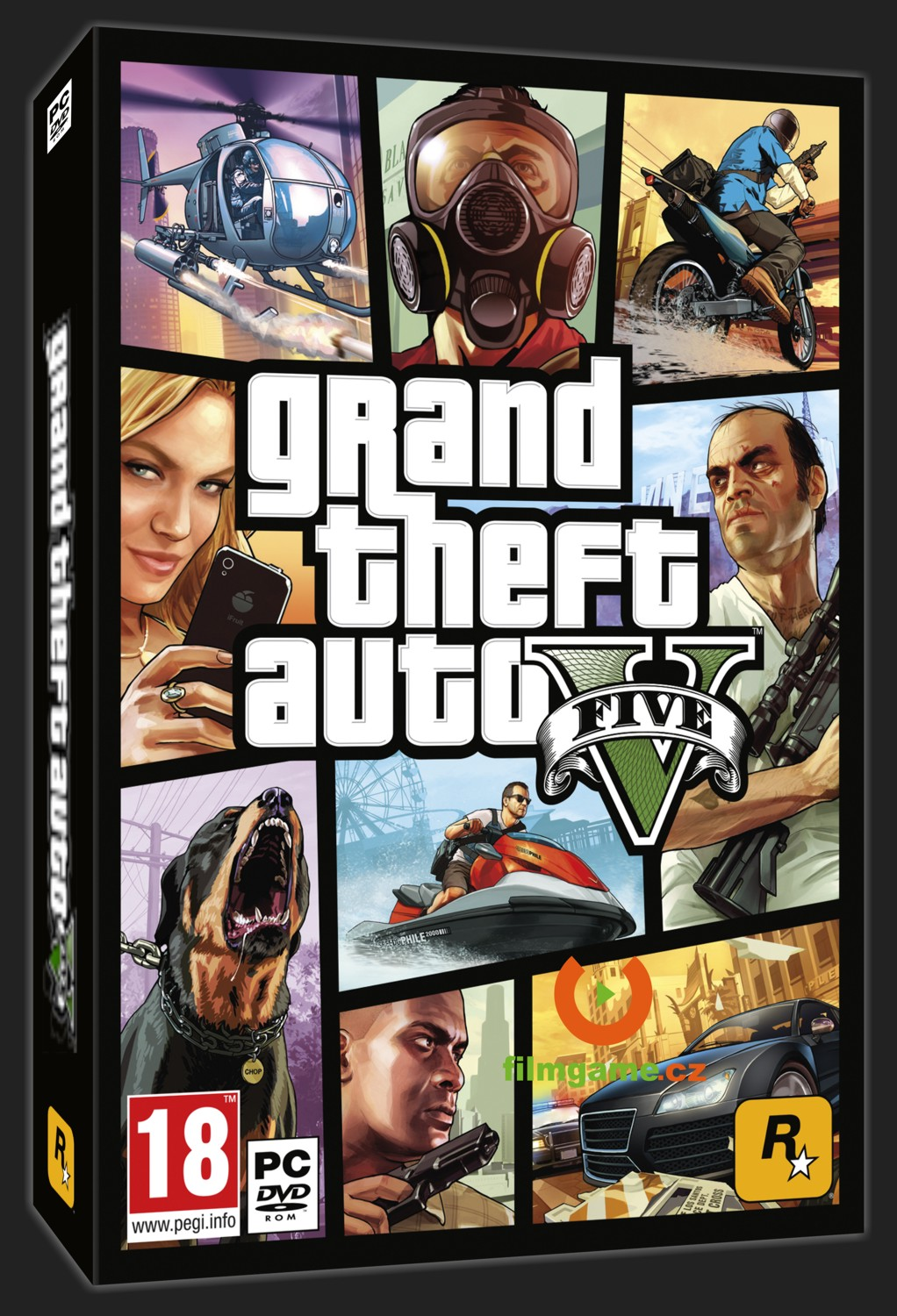 GTA V (GRAND THEFT AUTO 5) - PC