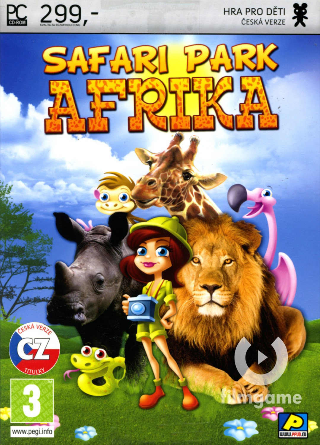 SAFARI PARK AFRIKA - PC