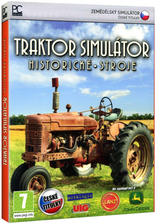 TRAKTOR SIMULÁTOR: HISTORICKÉ STROJE - PC