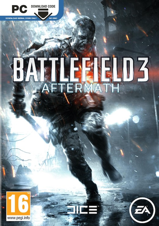 BATTLEFIELD 3 - AFTERMATH (kód ke stažení) - PC
