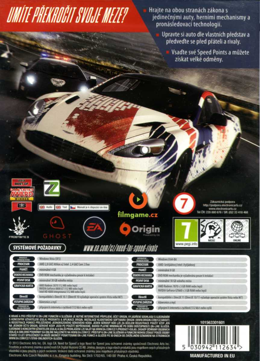 NEED FOR SPEED: RIVALS - PC