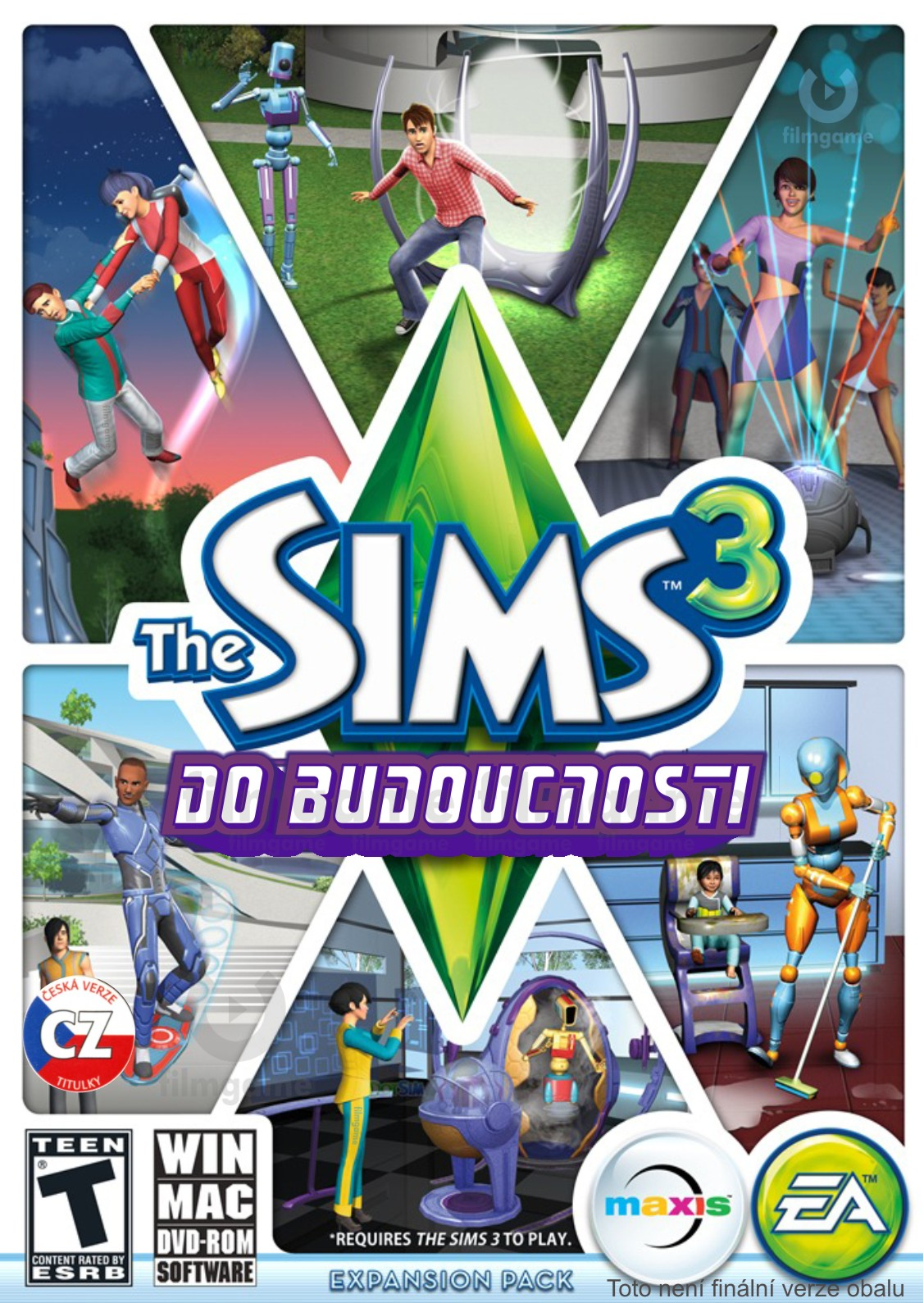 THE SIMS 3: DO BUDOUCNOSTI - PC