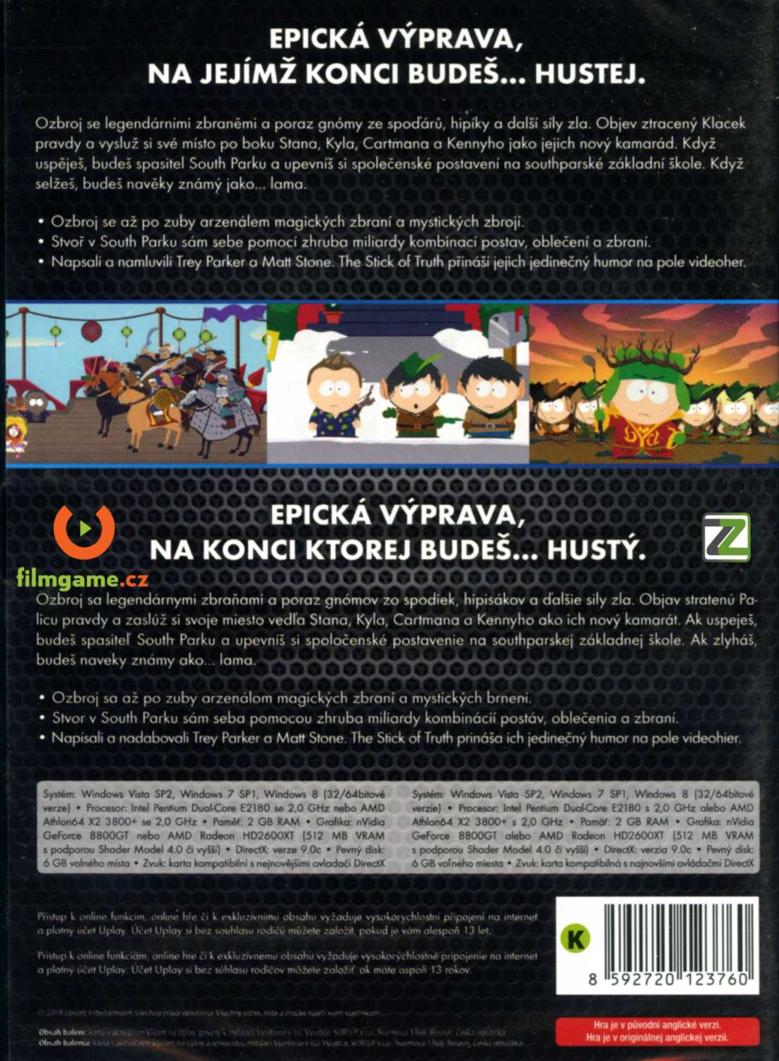 SOUTH PARK: THE STICK OF TRUTH - PC (Code Uplay)