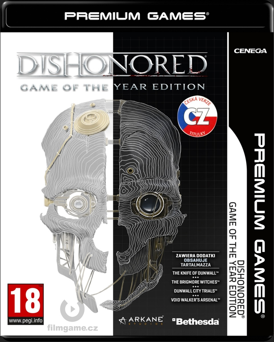 DISHONORED CZ GAME OF THE YEAR EDITION - PC
