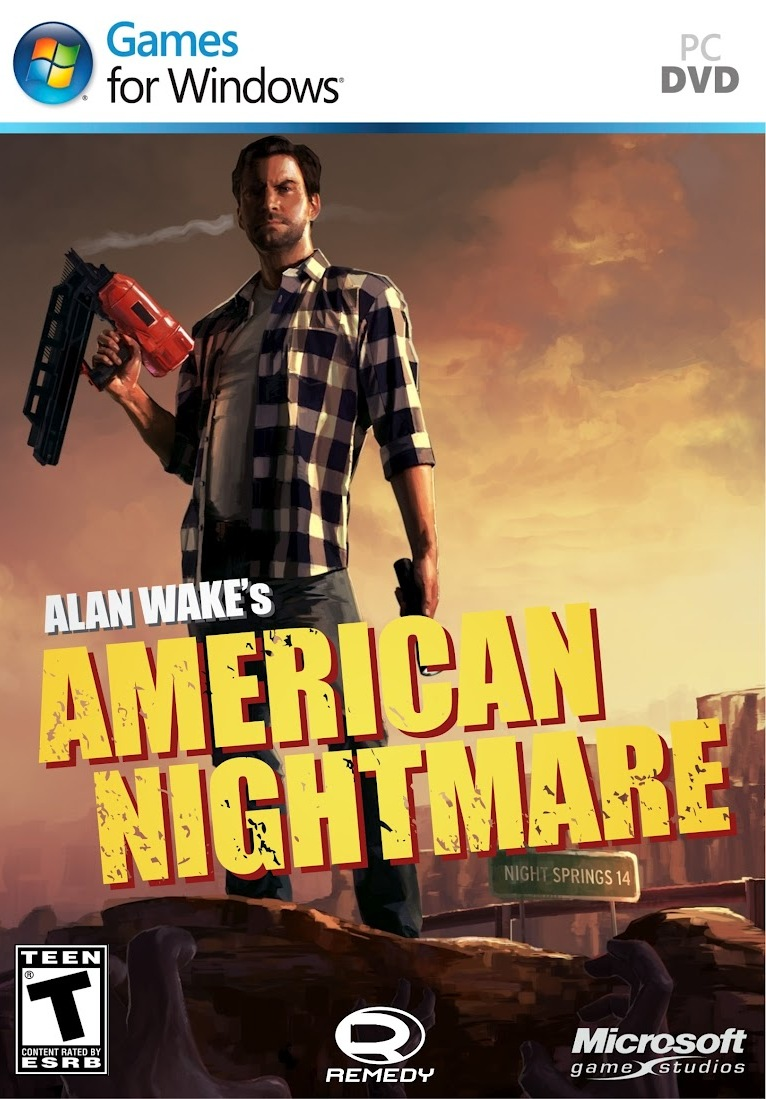 ALAN WAKES AMERICAN NIGHTMARE - PC