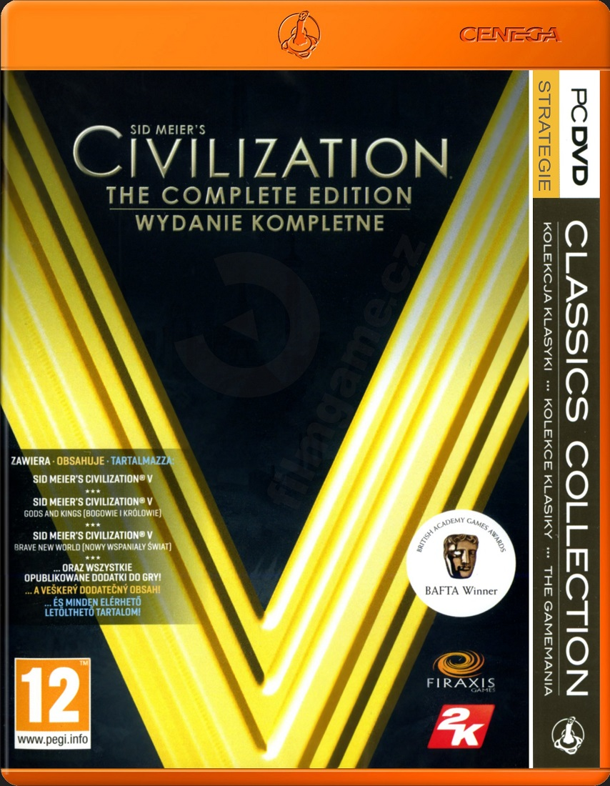 CIVILIZATION V COMPLETE - PC