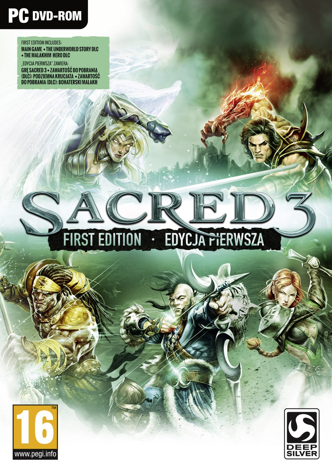 SACRED 3 FIRST EDITION - PC