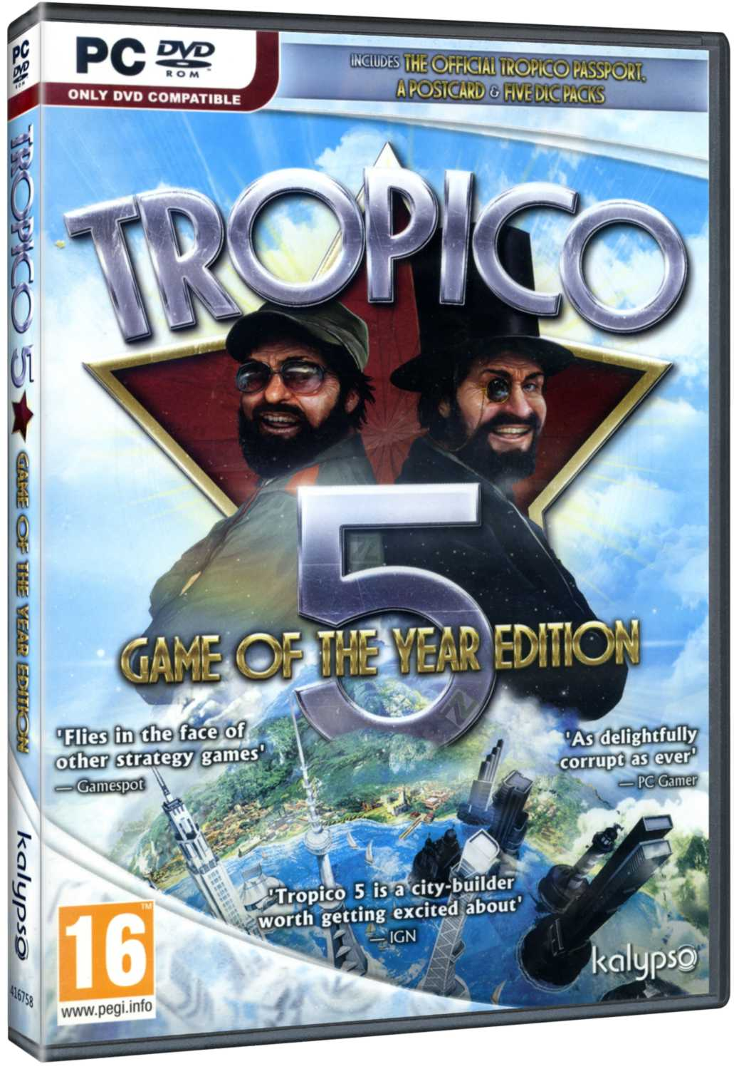 TROPICO 5 (Game of the Year Edition) - PC