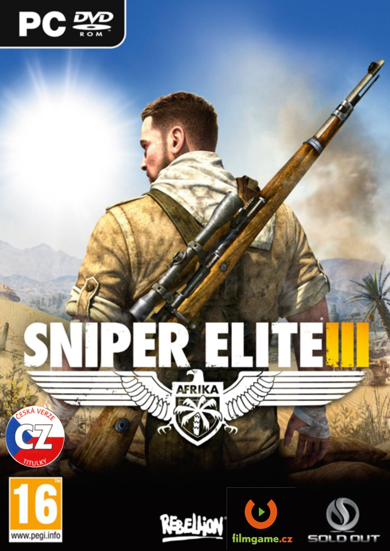 SNIPER ELITE 3 CZ - PC