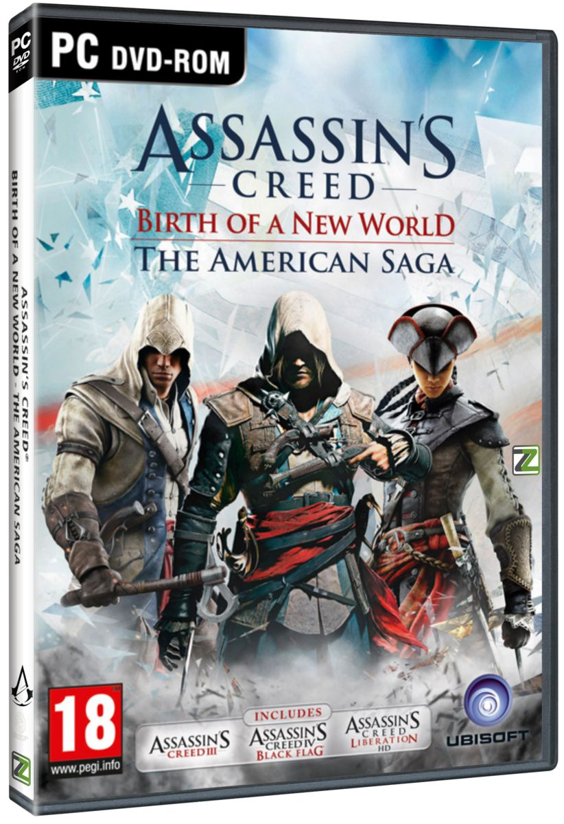 ASSASSINS CREED: THE AMERICAN SAGA COLLECTION - PC