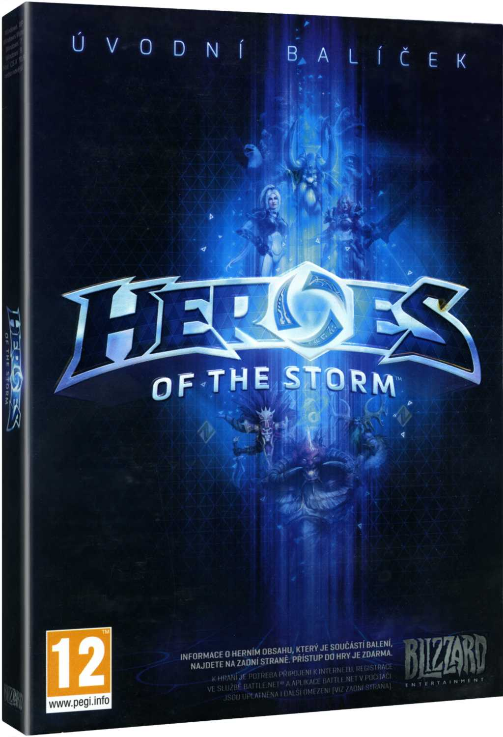 HEROES OF THE STORM (STARTER PACK) - PC