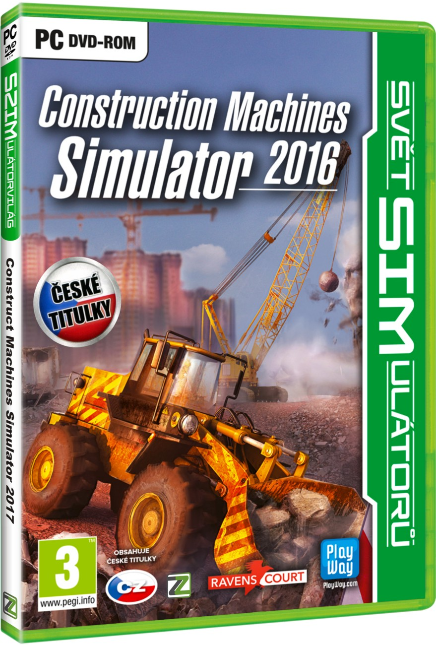 CONSTRUCTION MACHINES SIMULATOR 2016 - PC