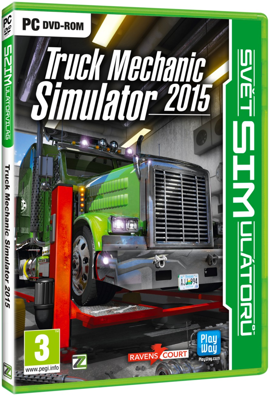 TRUCK MECHANIC SIMULATOR 2015 - PC