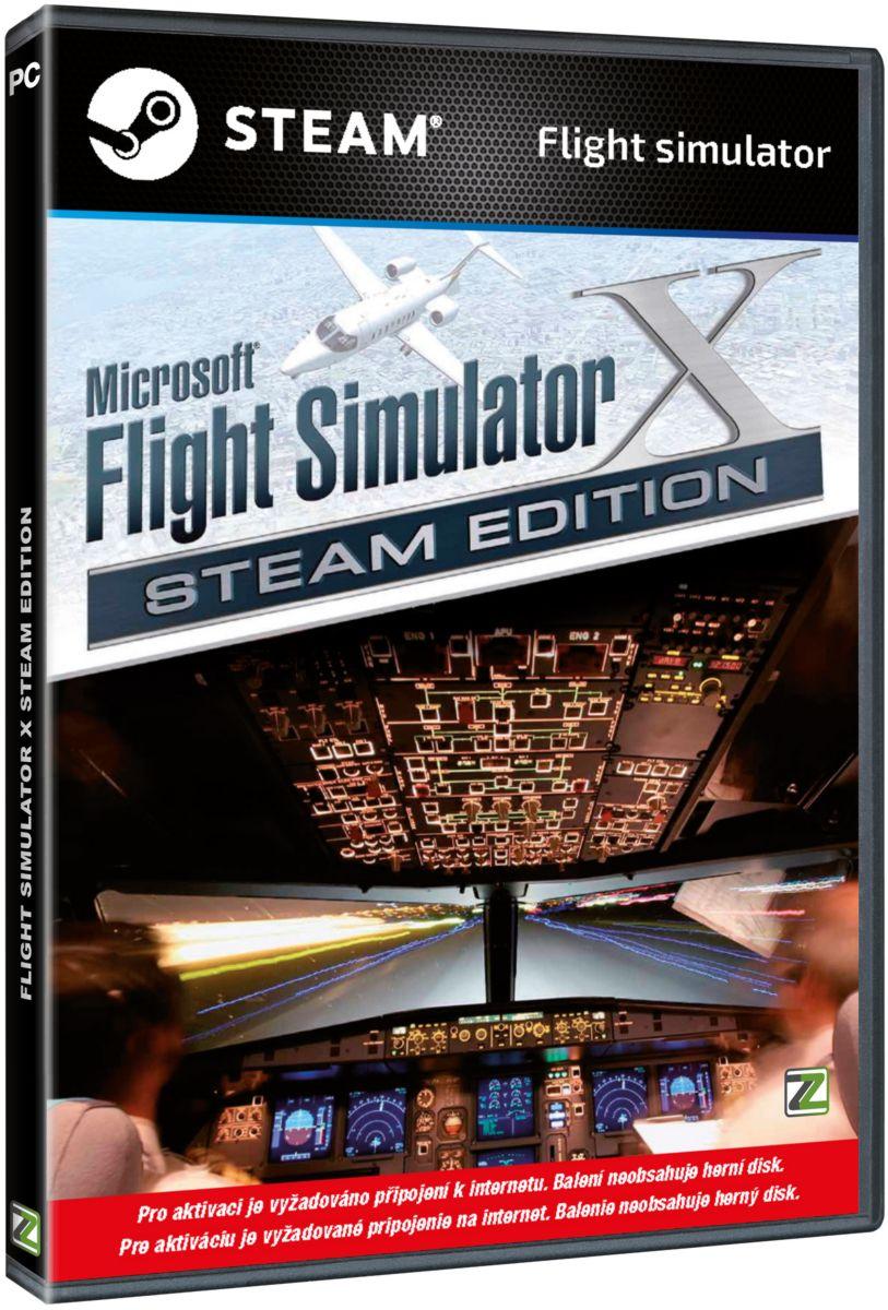 FLIGHT SIMULATOR X STEAM EDITION (CODE IN BOX) - PC