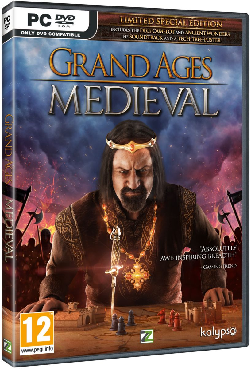 GRAND AGES: MEDIEVAL LIMITED SPECIAL EDITION - PC