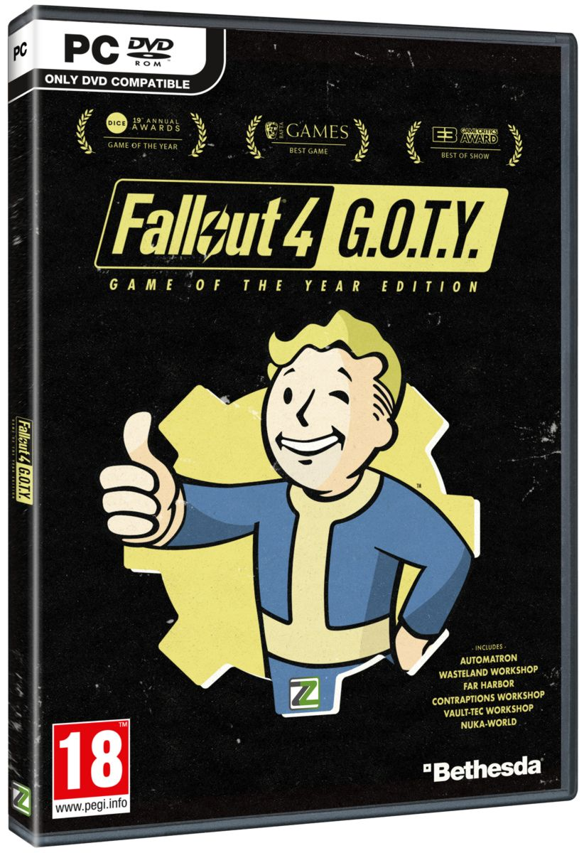 FALLOUT 4 - Game of the Year Edition - PC