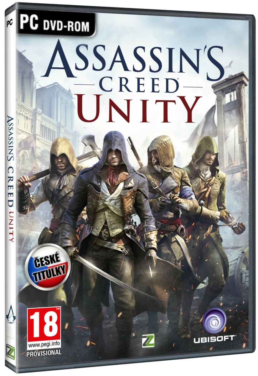 ASSASSINS CREED UNITY CZ - PC