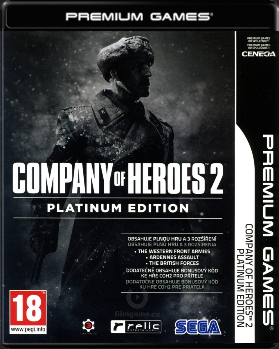 COMPANY OF HEROES 2 - ZÁKLADNÍ HRA + 3 ROZŠÍŘENÍ (PLATINUM EDITION) CZ - PC