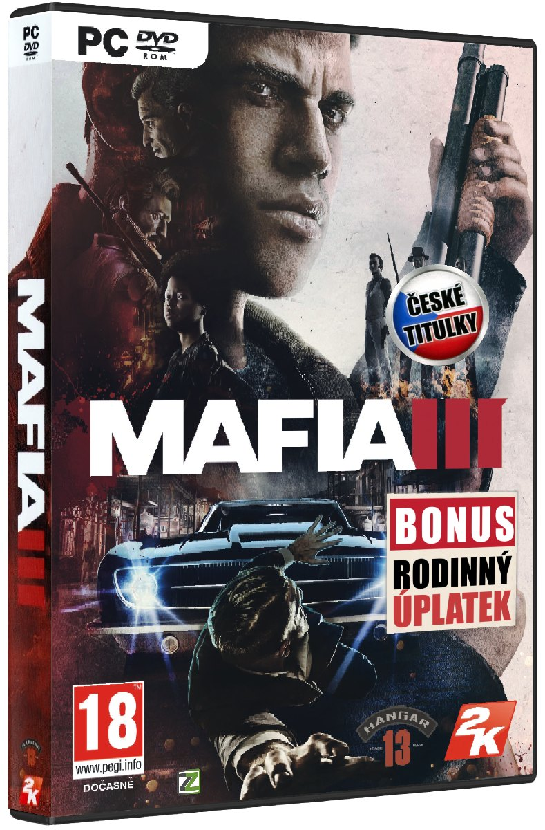 MAFIA III CZ (+DLC Rodinný úplatek) - PC
