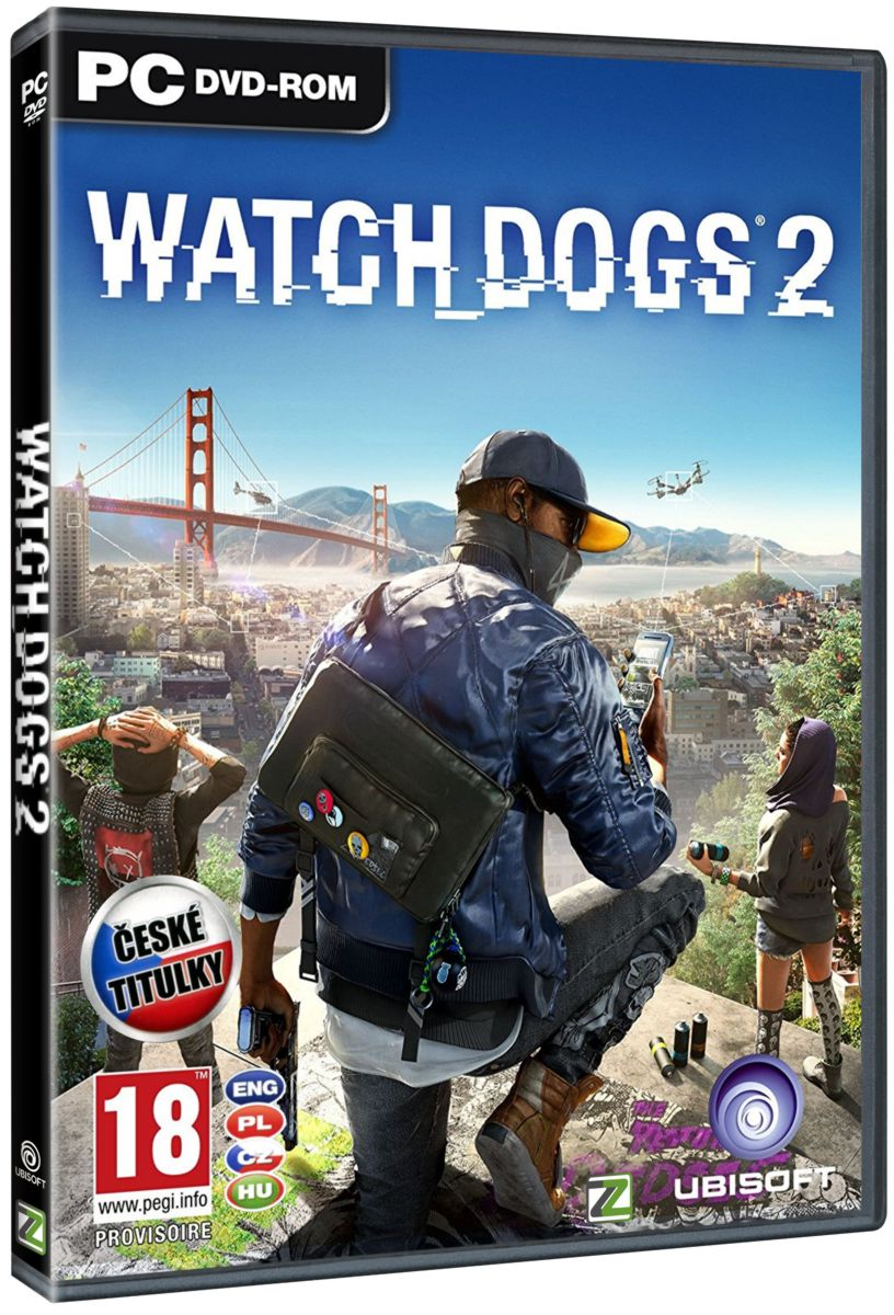 WATCH DOGS 2 CZ - PC
