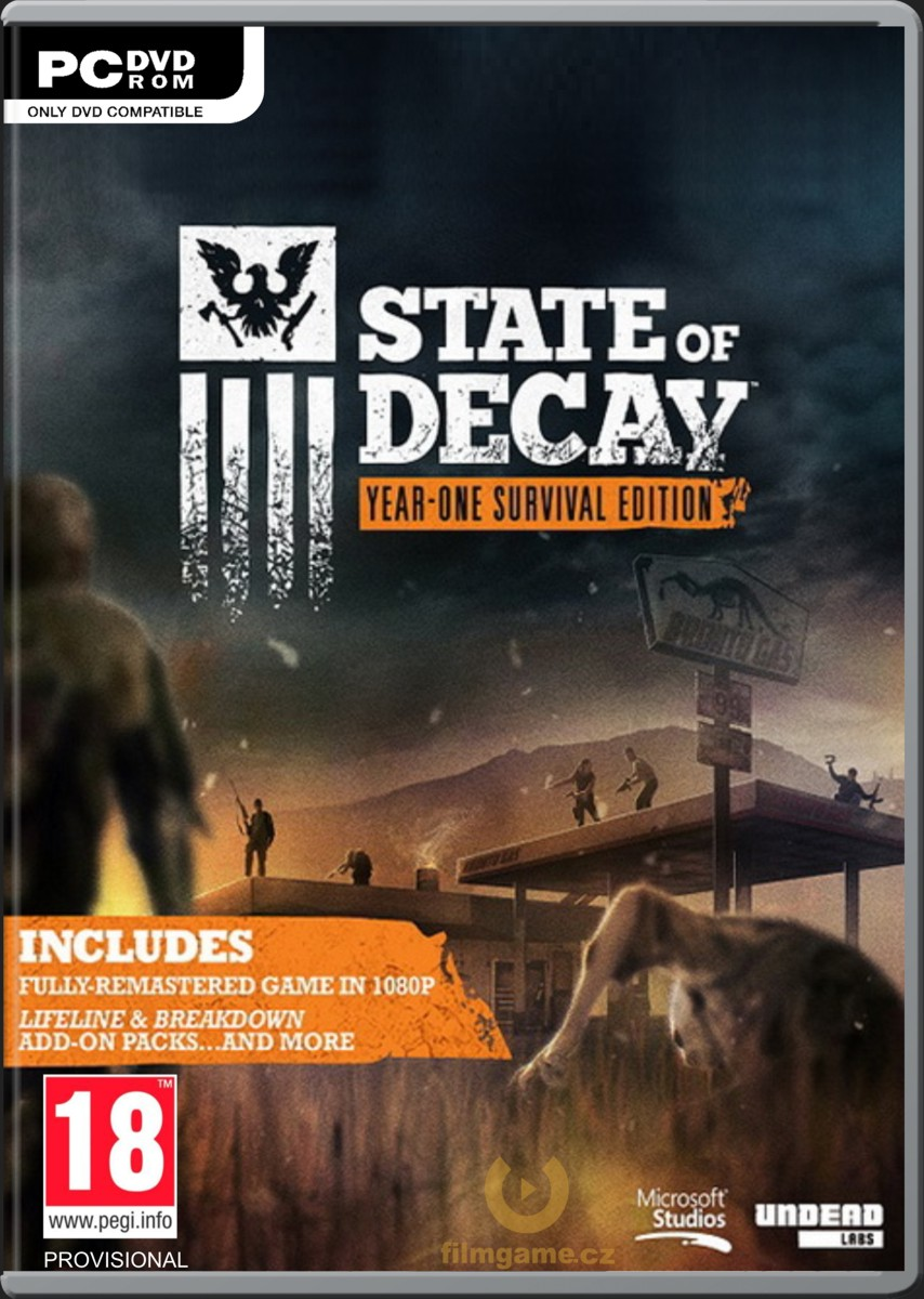 STATE OF DECAY: YEAR-ONE SURVIVALEDITION - PC