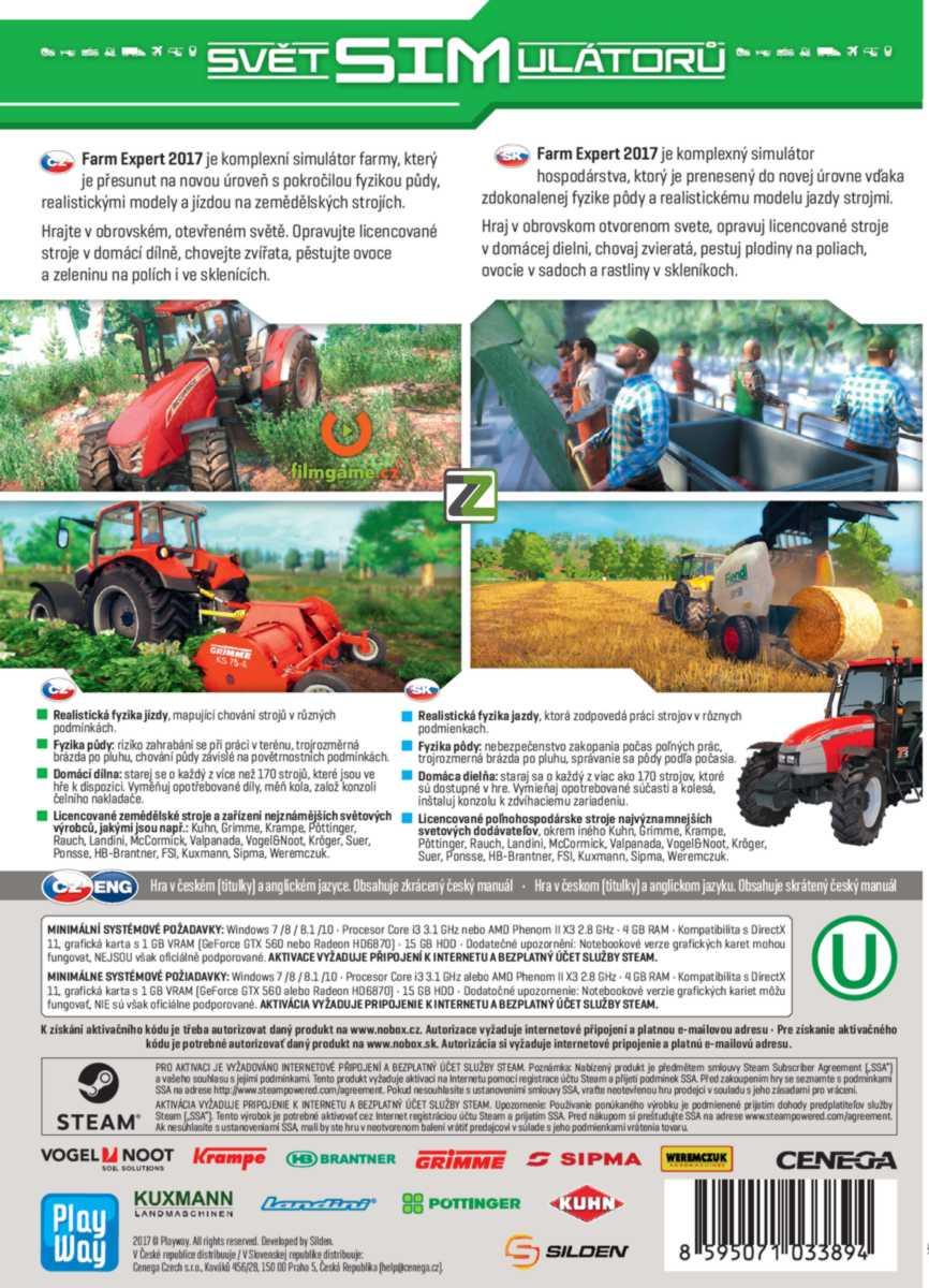 SIM: Farm Expert 2017 - PC