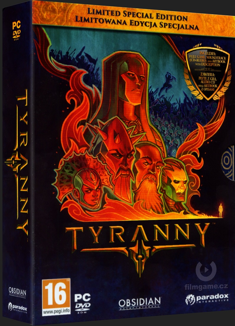 TYRANNY - LIMITED SPECIAL EDITION - PC