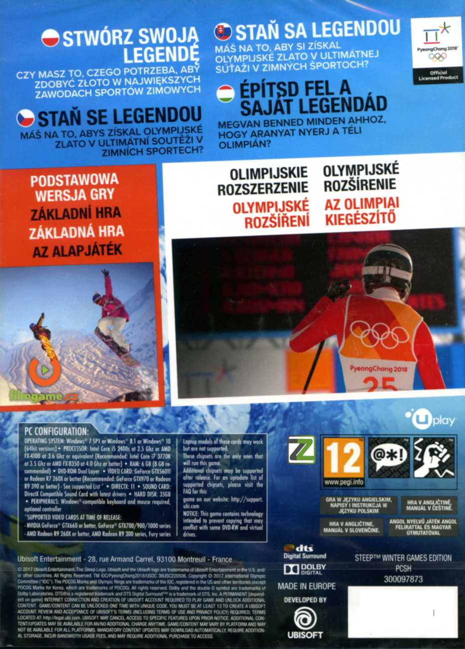 STEEP Winter Games Edition - PC