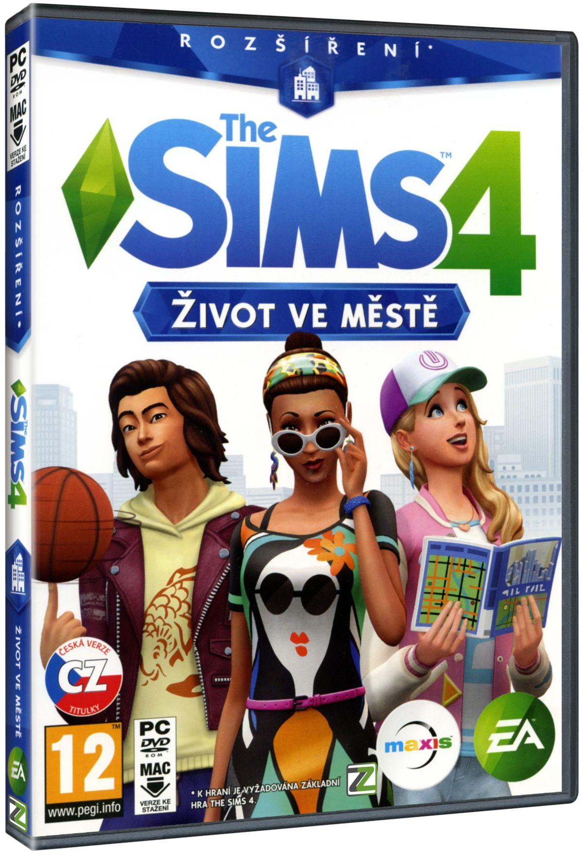 THE SIMS 4: ŽIVOT VE MĚSTĚ - PC