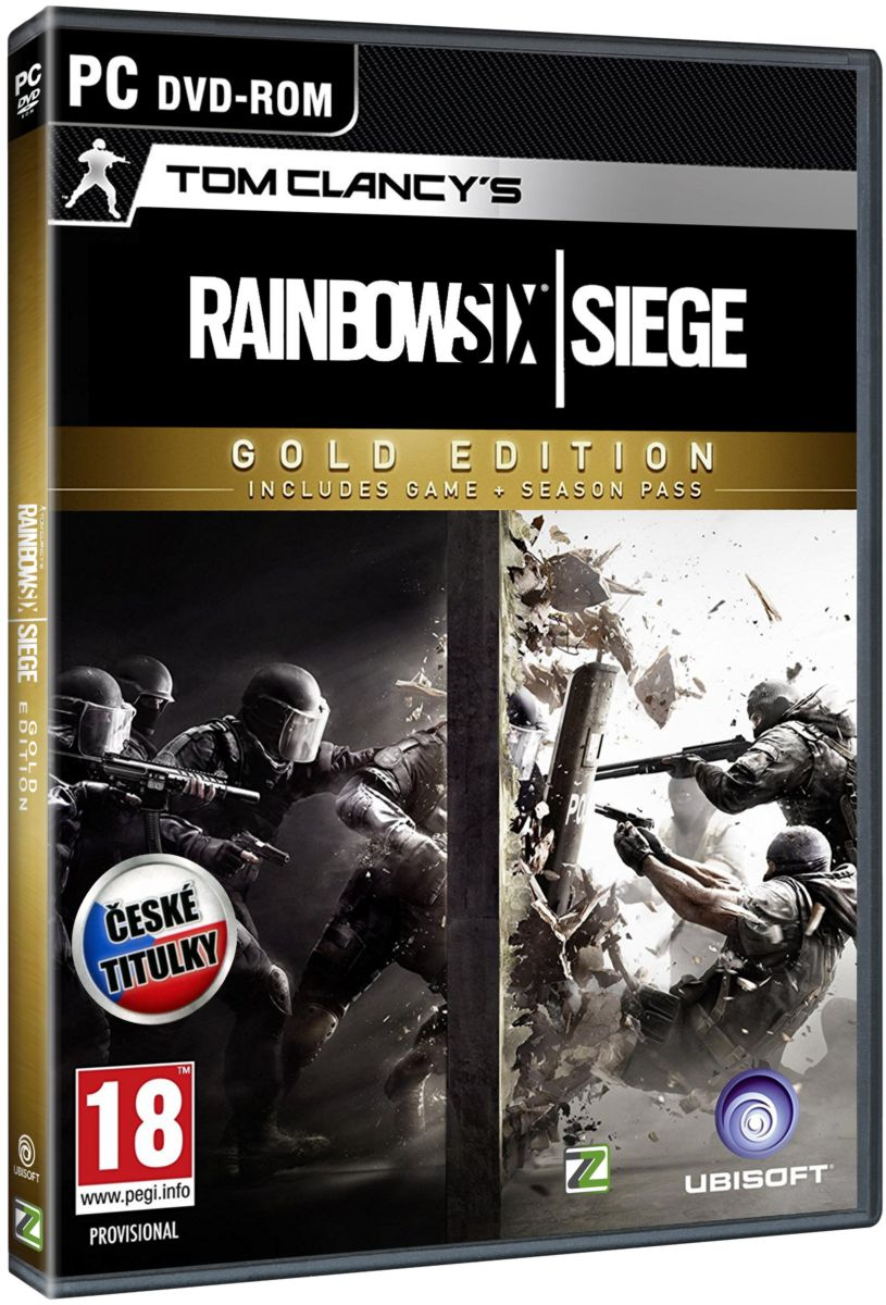 TOM CLANCY'S RAINBOW SIX: SIEGE (GOLD EDITION) - PC