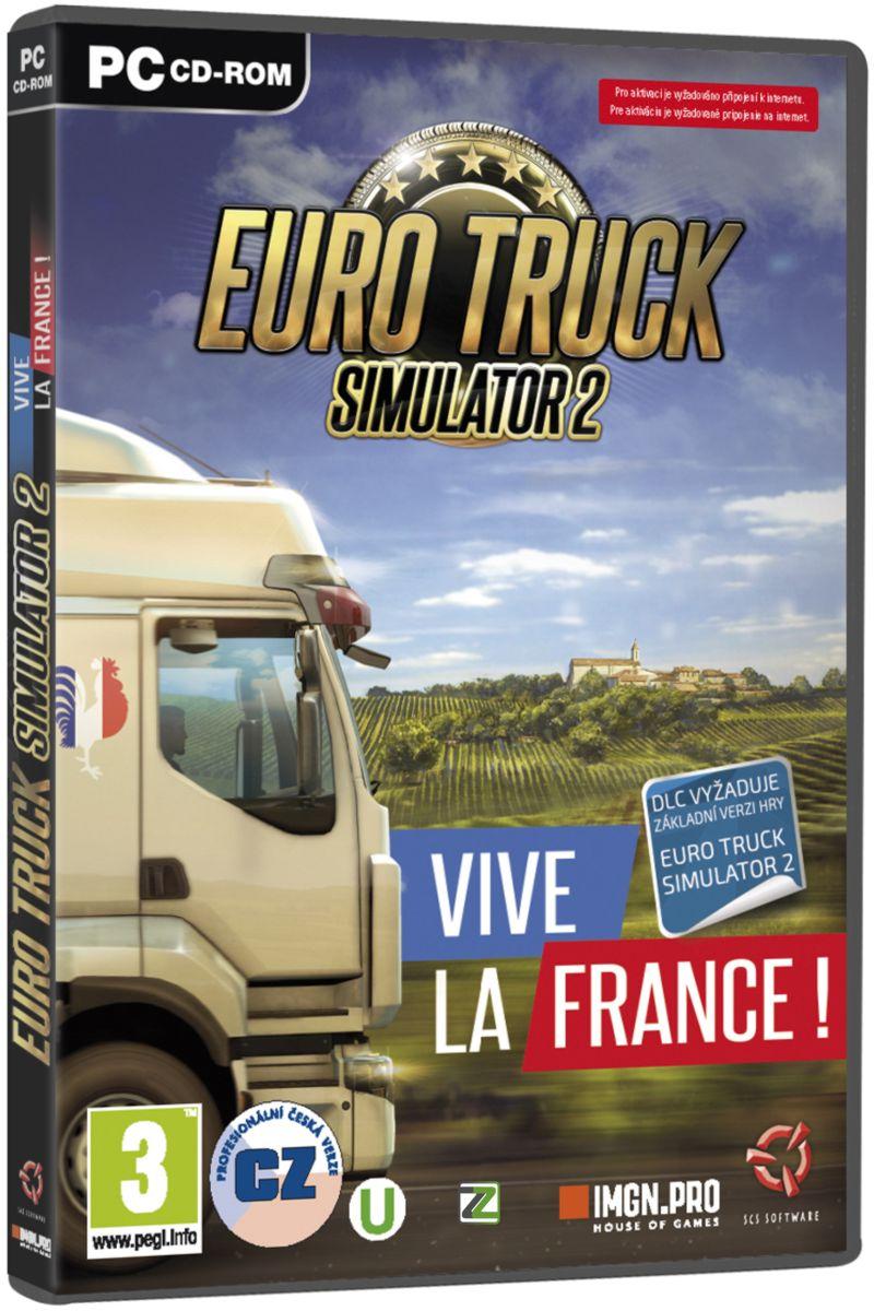 EURO TRUCK SIMULATOR 2: VIVE LA FRANCE! - PC