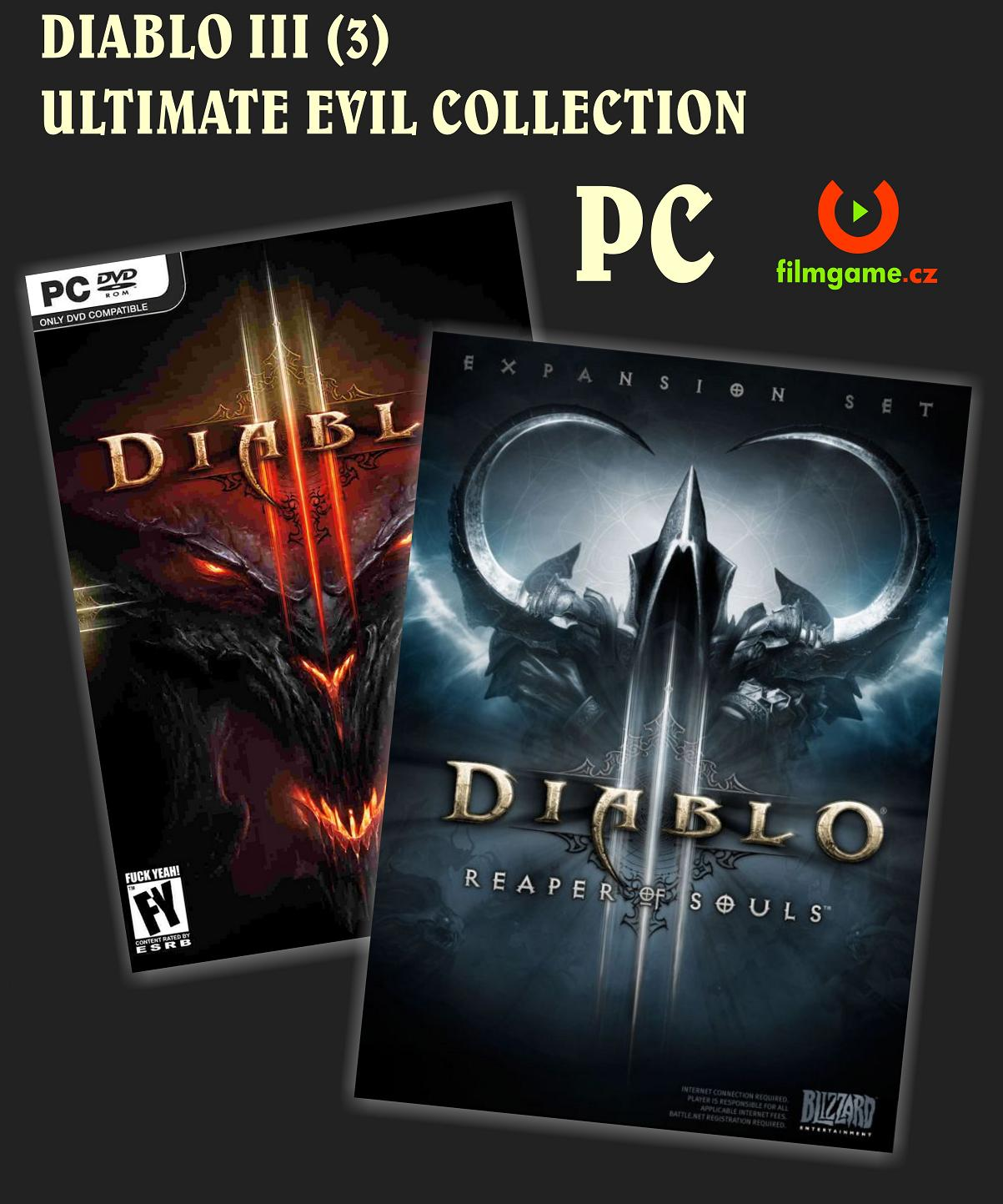 DIABLO III - ULTIMATE EVIL EDITION - PC