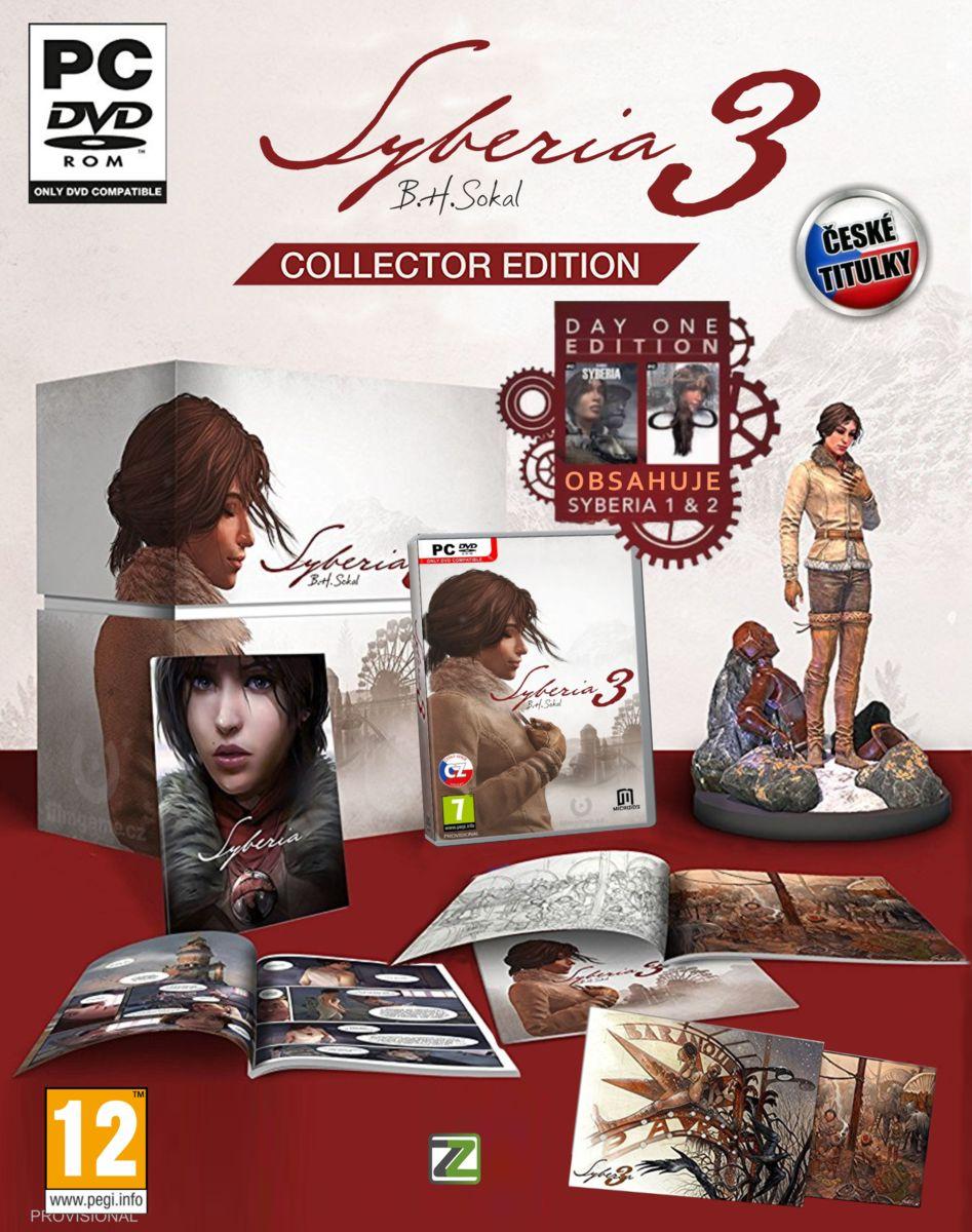 SYBERIA 3 (Sběratelská Edice) CZ - PC