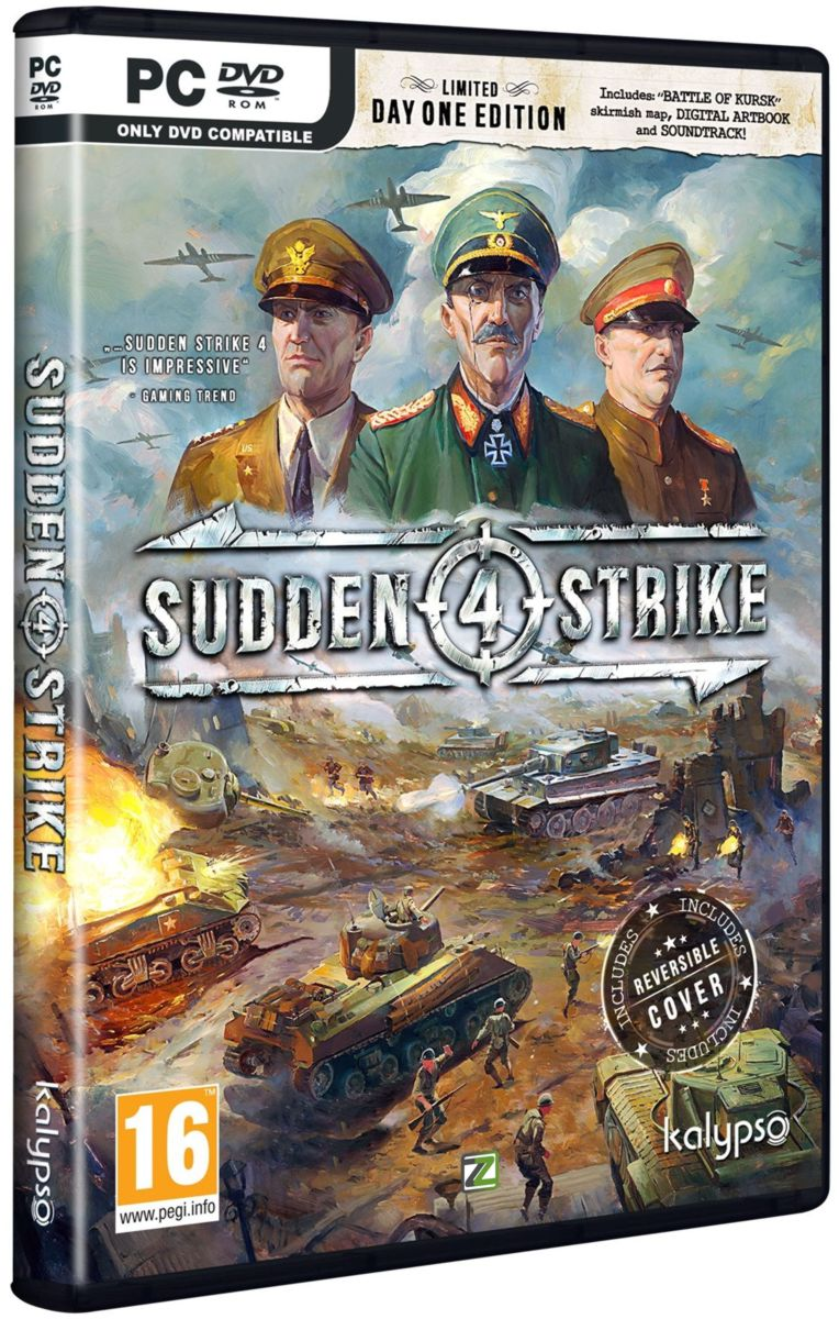 SUDDEN STRIKE 4 (LIMITED Day One Edition) - PC