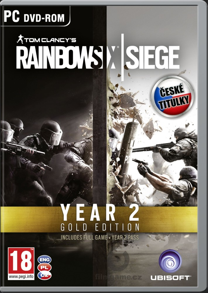 TOM CLANCY'S RAINBOW SIX: SIEGE GOLD SEASON 2 - PC